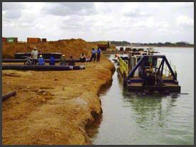 Ilmenite-mining-dredger