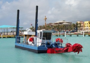 The 370HP Dragon™ Dredge is the most efficient, cost-effective, portable dredging system available anywhere.