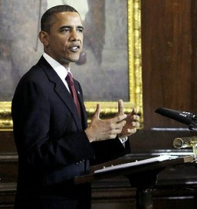 O presidente Obama anuncia US $ 10 bilhões de contratos entre empresas indianas e americanas, incluindo Ellicott. (Foto cortesia do The Indian Express)