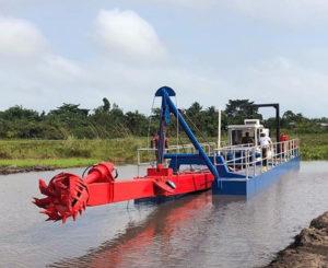 hydraulic cutterhead suction dredge