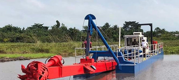 hydraulic cutterhead suction dredge