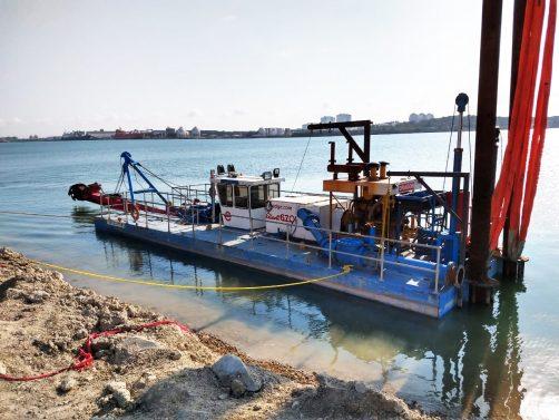 Cutterhead Dredges Start Altamira Port Dredging Project